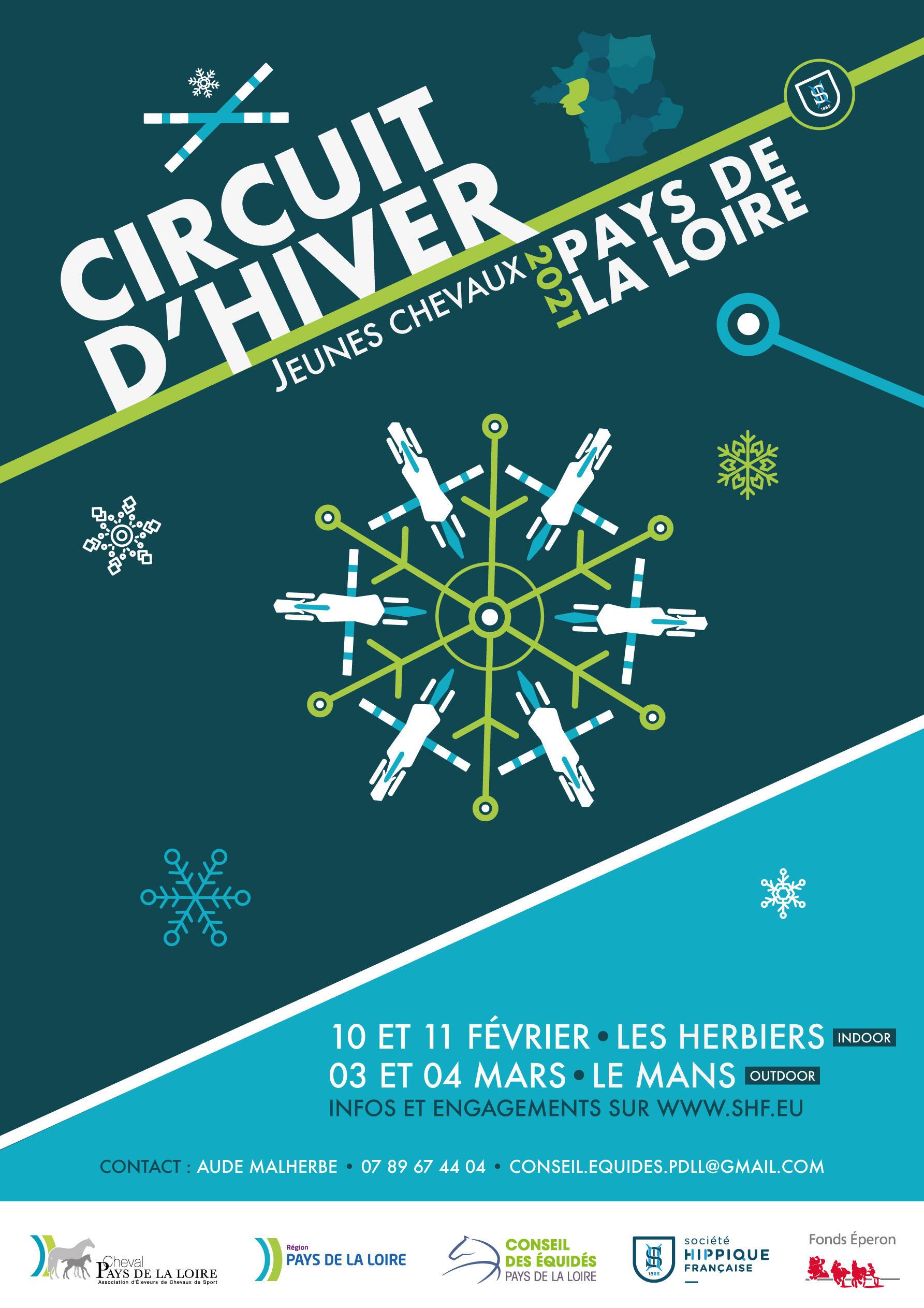 Engagements ouverts pour le circuit d'hiver SHF au Mans (03-04 mars)