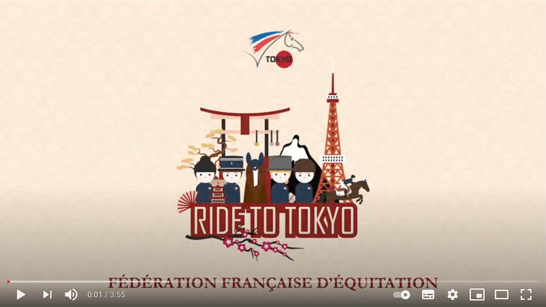 Retour en vidéo sur le stage équipe de France de Concours complet - Saumur