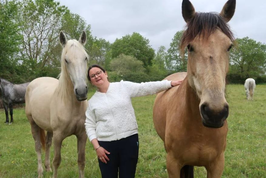 Saumurois. Pour Nathalie Martinez, l'harmonie globale passe par le cheval