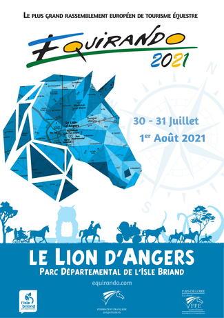 L'Équirando 2021 se déroulera dans les Pays de la Loire
