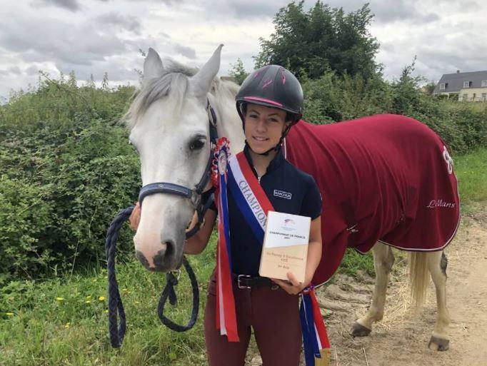 La Flèche. À 14 ans, Johana est championne de France de poney