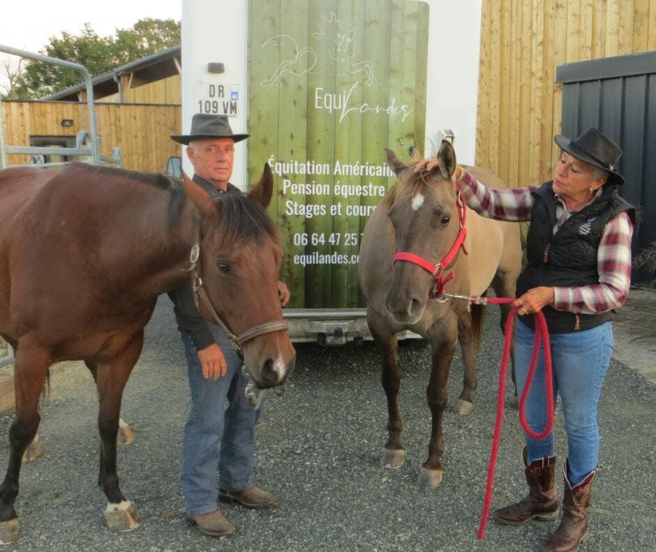 Équilandes, hôtel de plein air pour chevaux à Loireauxence