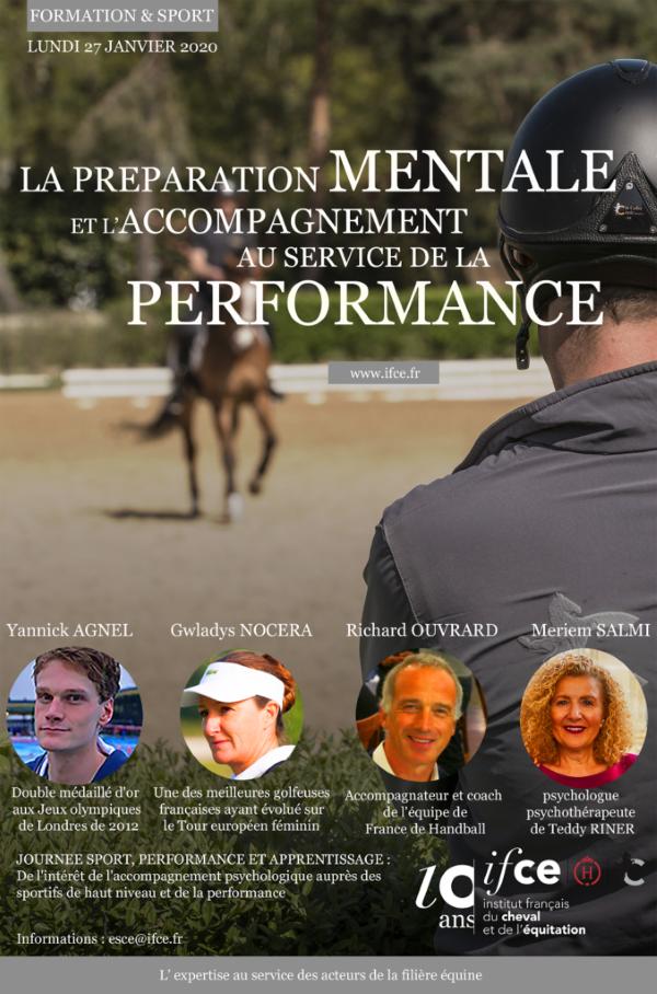 Journée sport IFCE 2020 : la préparation mentale et l'accompagnement de la performance sportive