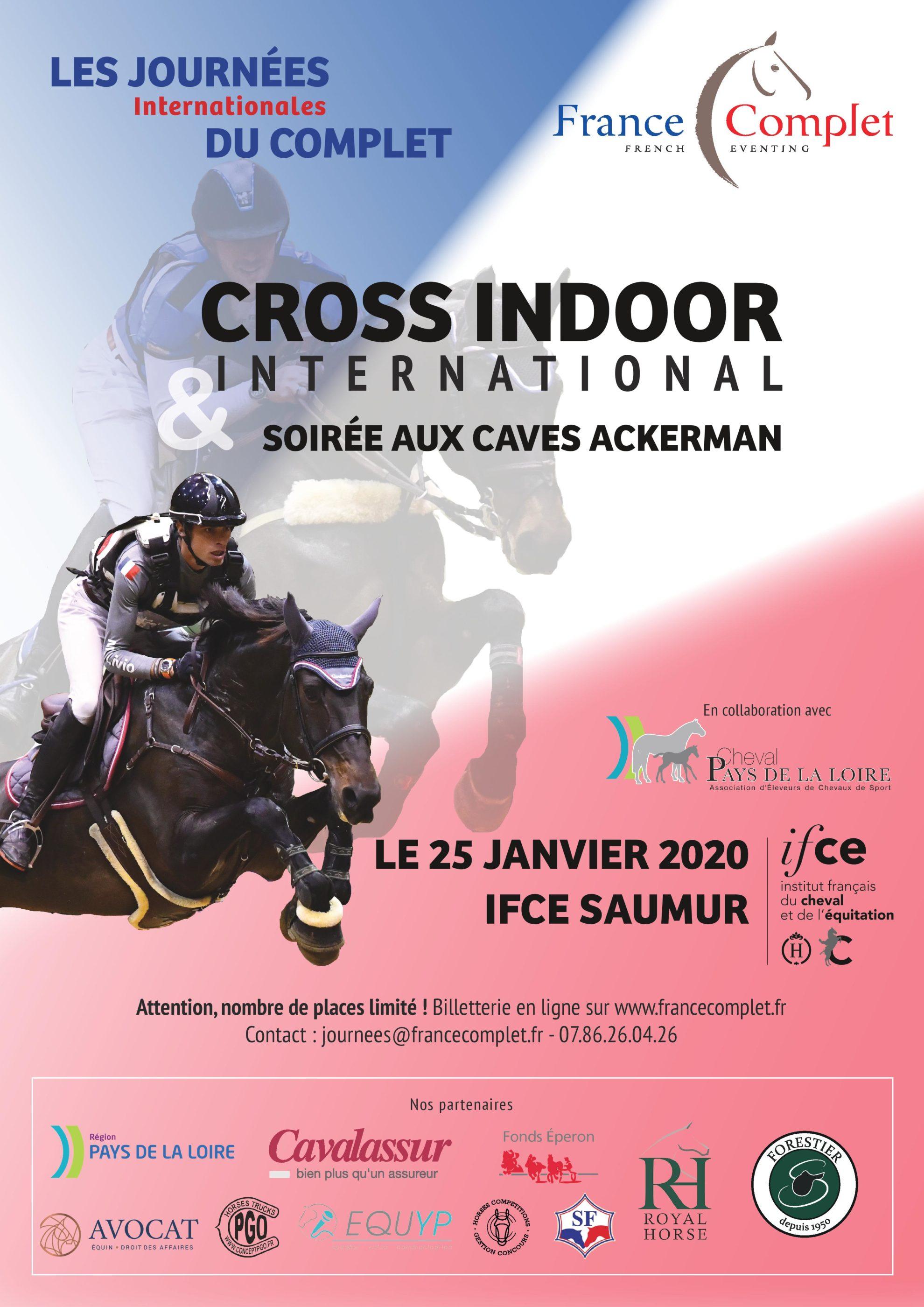 Journées du Complet et Cross Indoor à Saumur