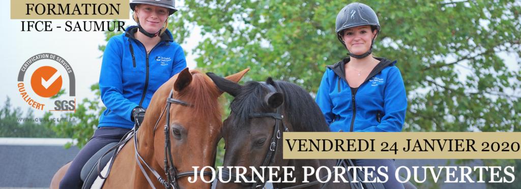 Journée portes ouvertes formations Saumur 2020