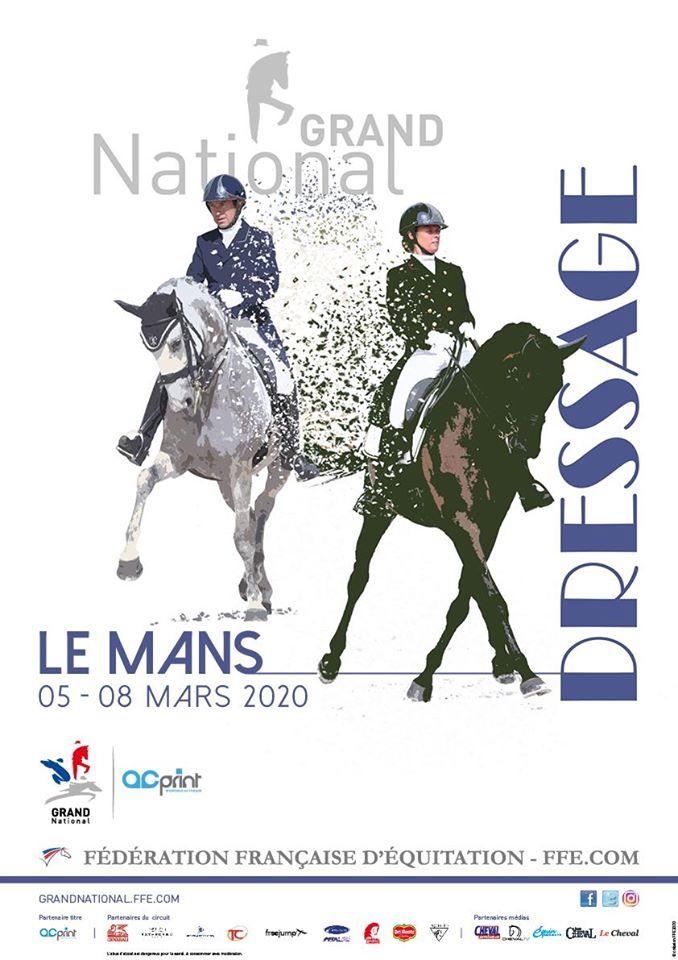 Grand national de dressage au Mans