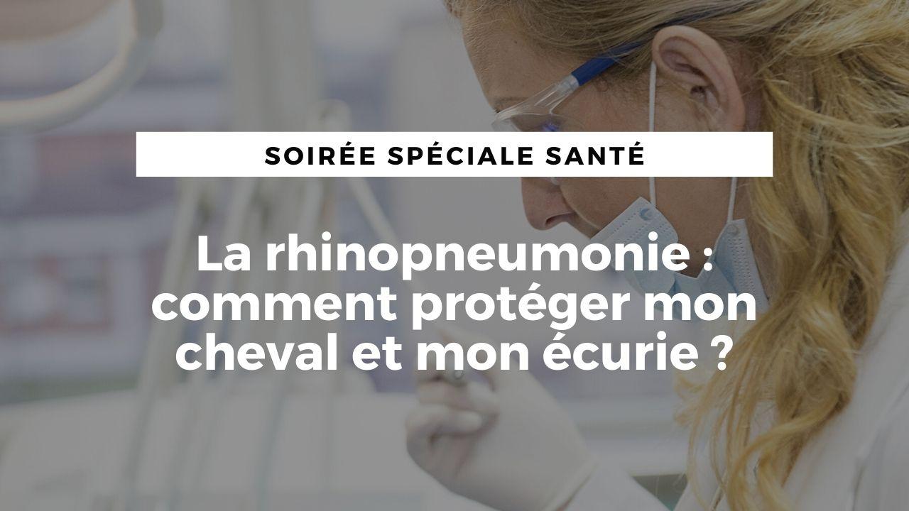 [Live] La rhinopneumonie : comment protéger mon cheval et mon écurie ?