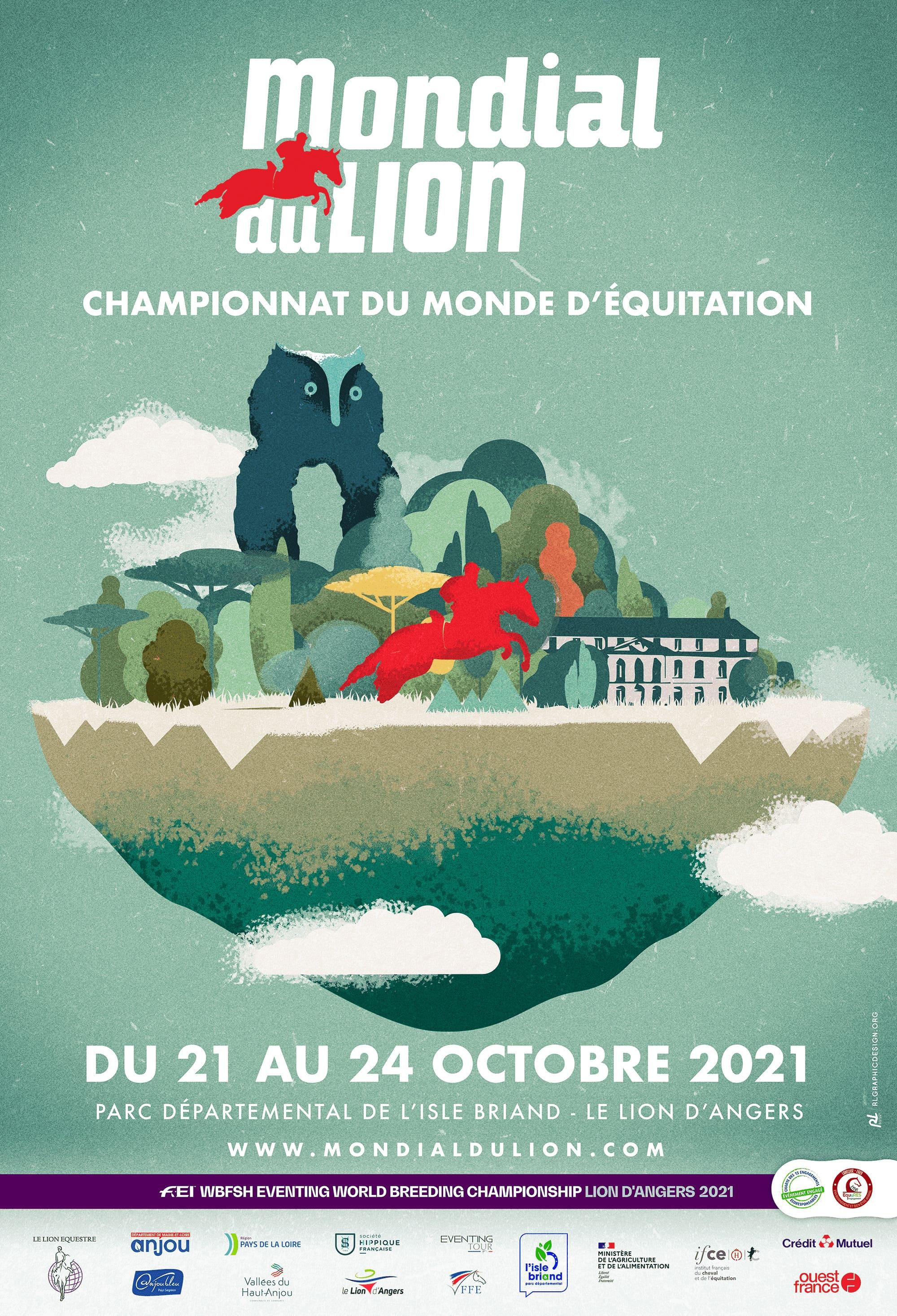 Mondial du Lion d'Angers - Du 21 au 24 octobre 2021