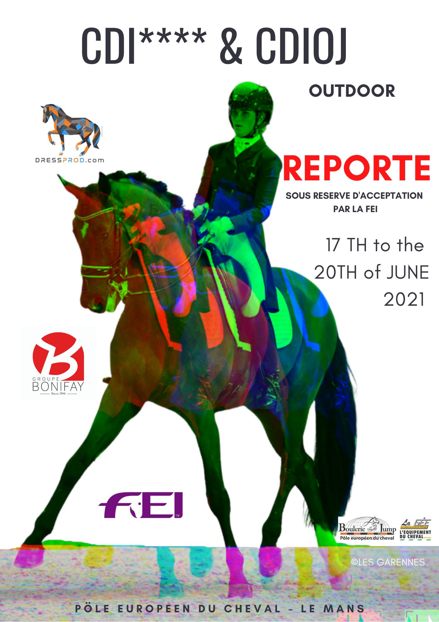 CDI**** et CDIOJ - Le Mans