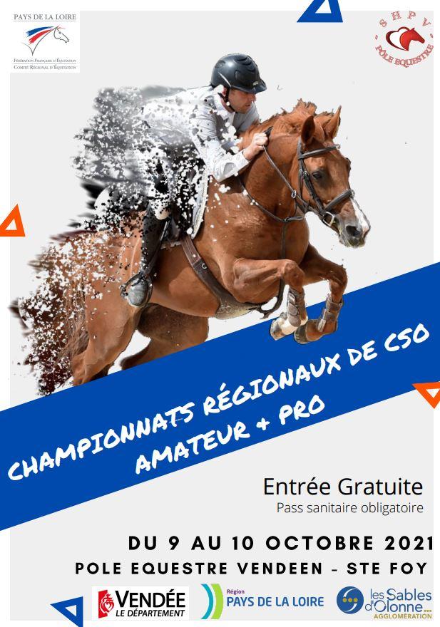 Championnat Régional CSO - Pôle Equestre Vendéen